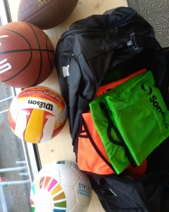 oder Basketball, ....