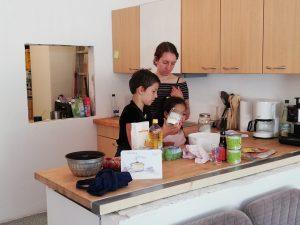 Anna beim Koch-WS ....