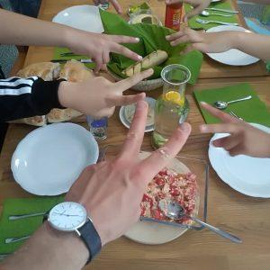 Zusammen Essen